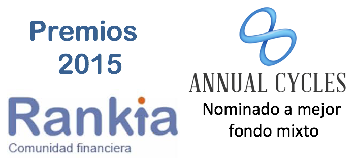 ANNUALCYCLES Nominado por Rankia en la categoria de mejor Fondo Mixto 2015