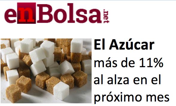 Fase Alcista del Azúcar entre Junio y Julio