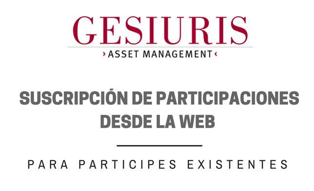 Suscribir participaciones online