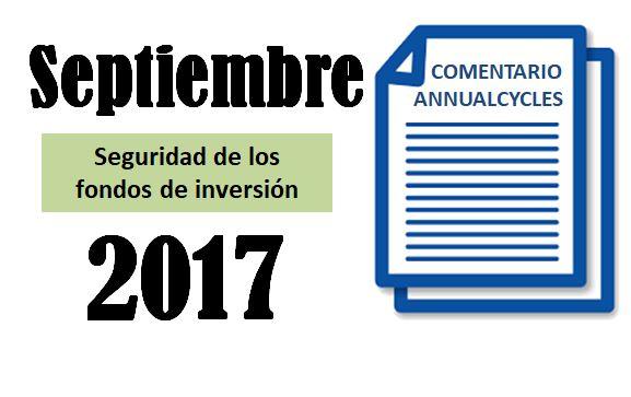 Septiembre 2017 – Seguridad de los fondos de inversión